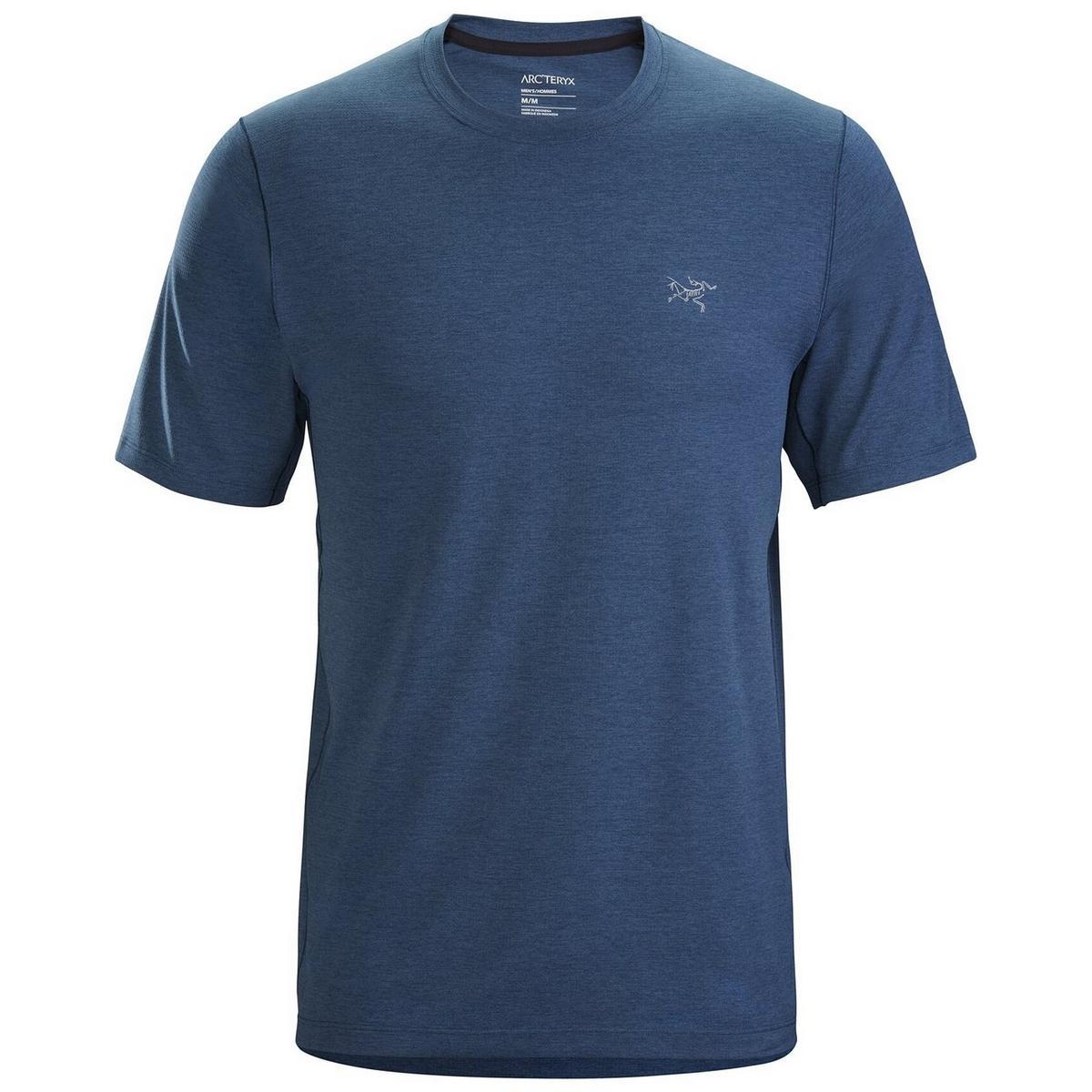 Arcteryx Men's Cormac Crew SS T Shirt - Blue