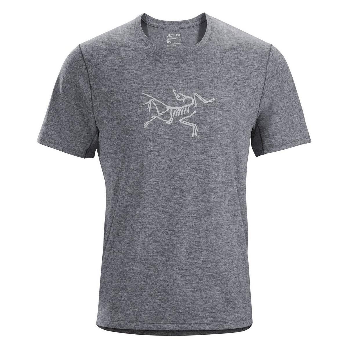 Arcteryx Men's Cormac Logo SS - Grey