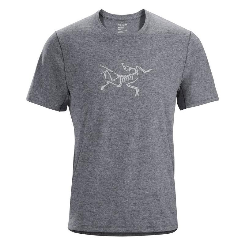 Men's Cormac Logo SS - Grey