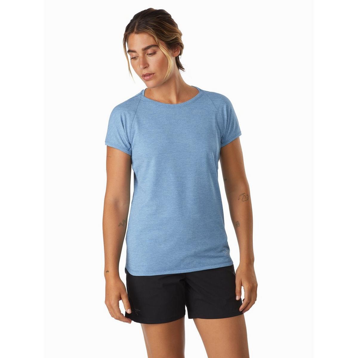 Arcteryx Women's Taema SS T Shirt - Blue