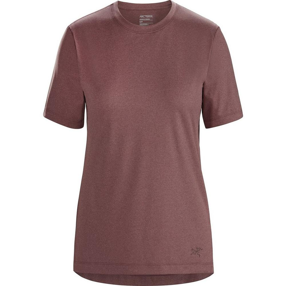 Arcteryx Women's Remige Short Sleeved T-Shirt - Purple