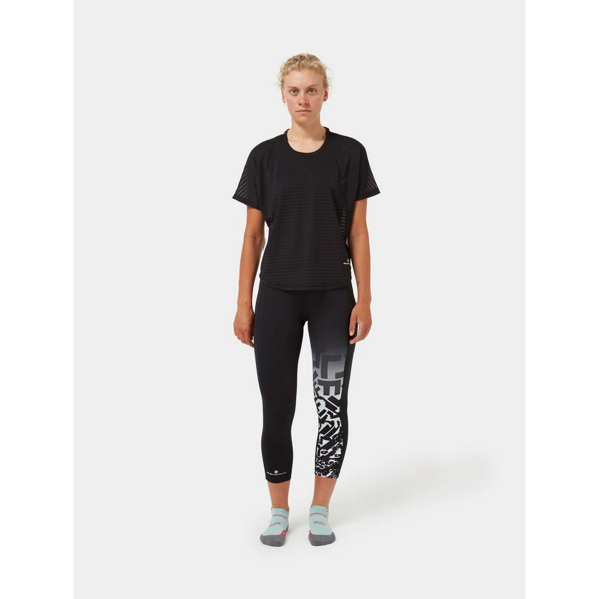 Ron Hill Women's Life Agile S/S T-Shirt - Black