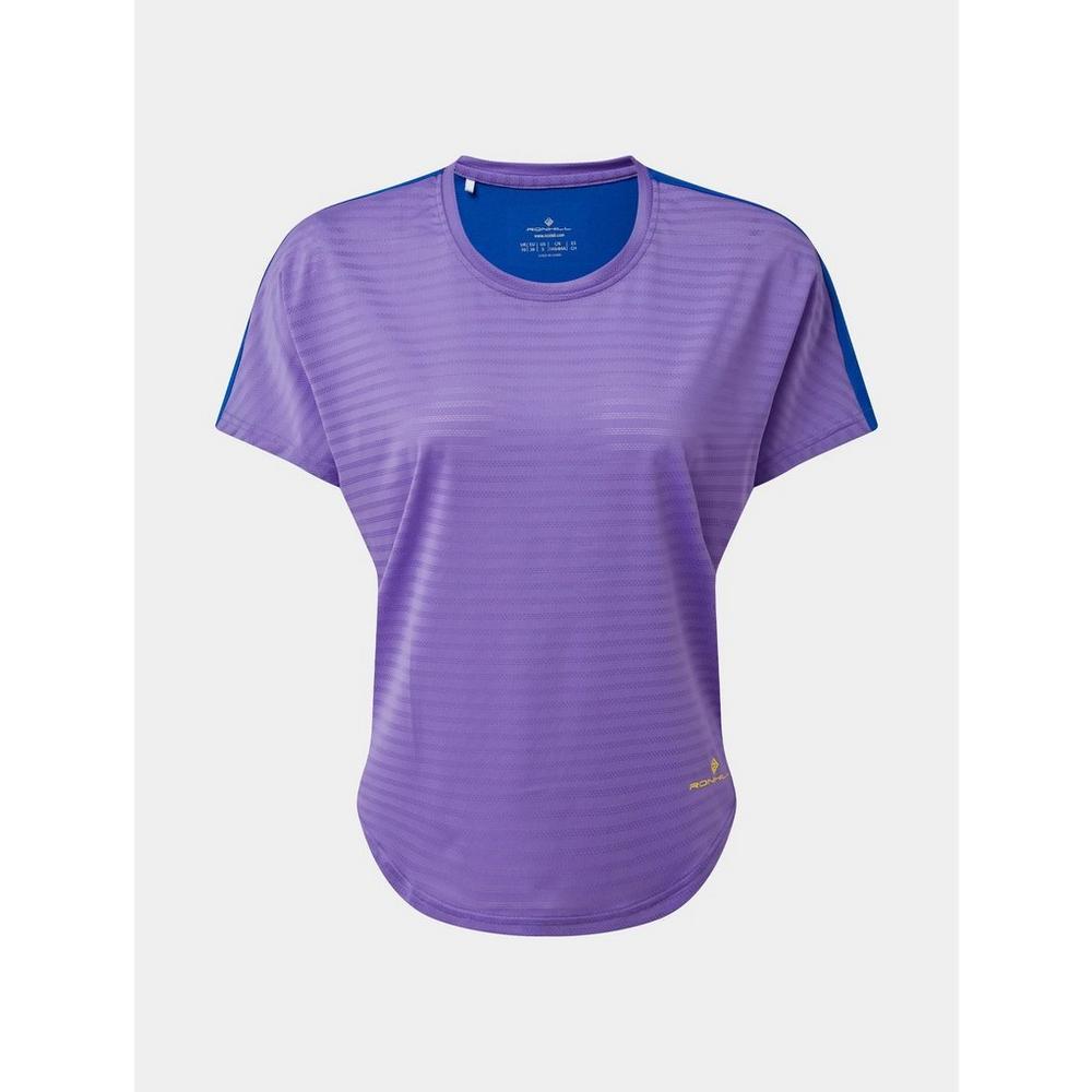 Ron Hill Women's Life Agile S/S T-Shirt - Lilac