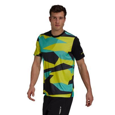 adidas Terrex Men's Primegreen Graphic T-Shirt - Multi
