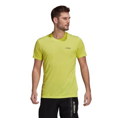 adidas Terrex Men's Tivid Tee - Yellow