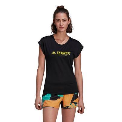 adidas Terrex Women's Trail Logo T-Shirt - Black