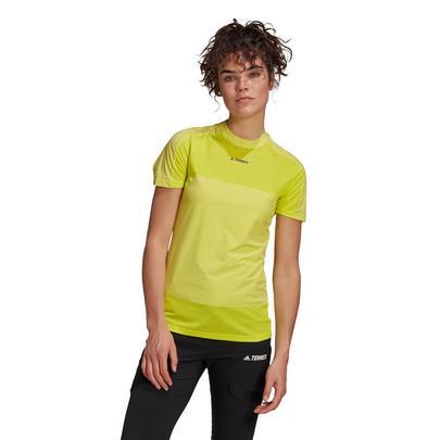 adidas Terrex Women's Zupahike Tee - Yellow