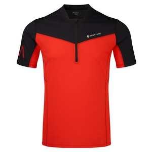 Men's Dragon Zip T-Shirt - Flag Red