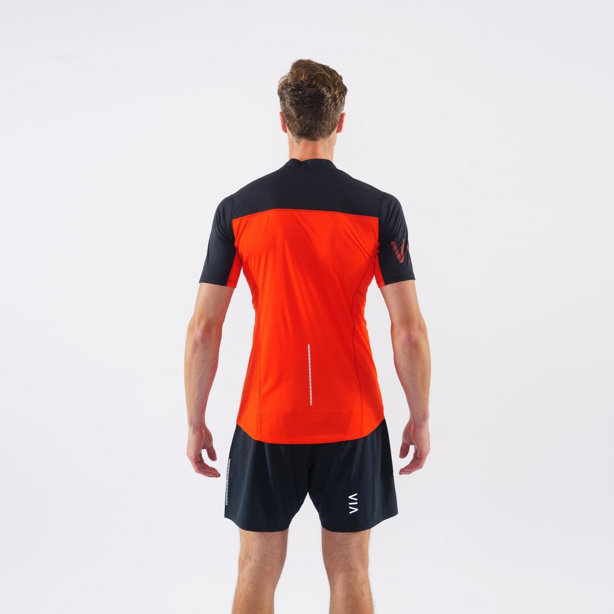 Montane Men's Dragon Zip T-Shirt - Flag Red
