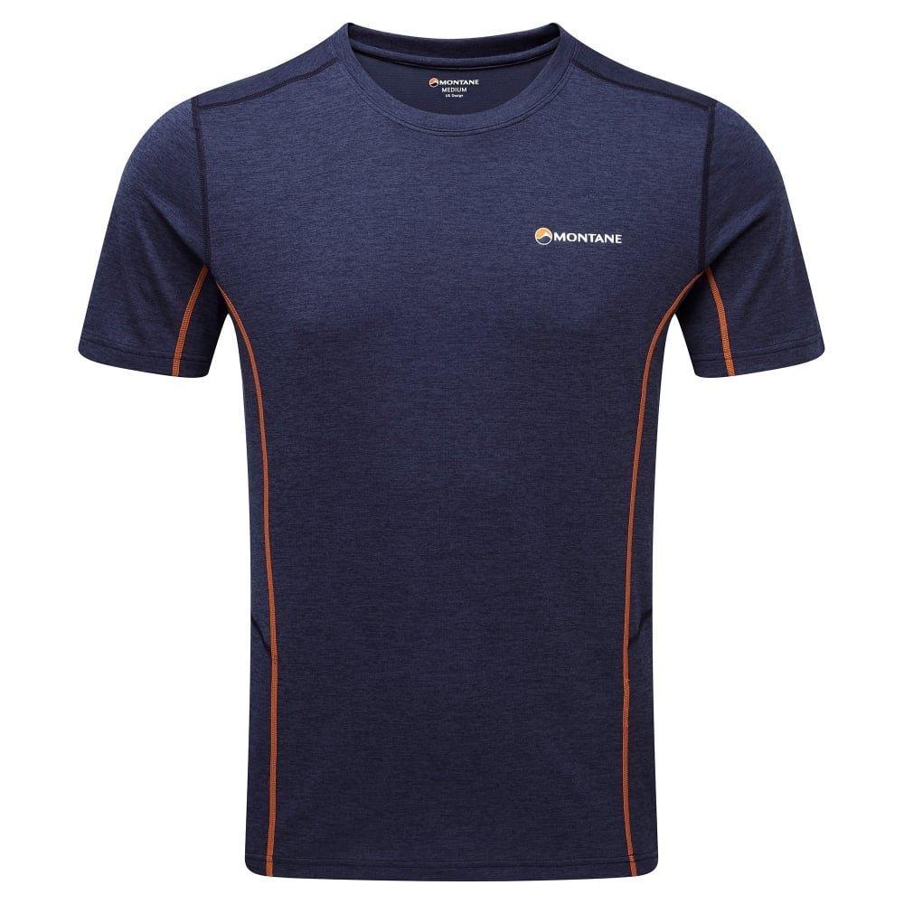 Montane Mens Dart T-Shirt - Antarctic Blue
