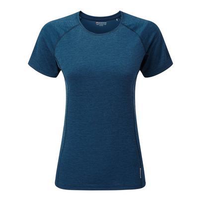 Montane Women's Dart T-Shirt - Narwhal Blue