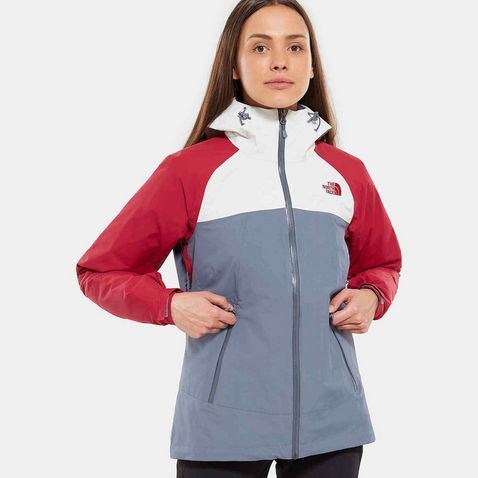 80679dfcc1f4 Grey The North Face Women s Stratos Jacket ...
