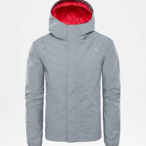 1fb75bbda5 Grey The North Face Girls Resolve Reflective Jacket ...