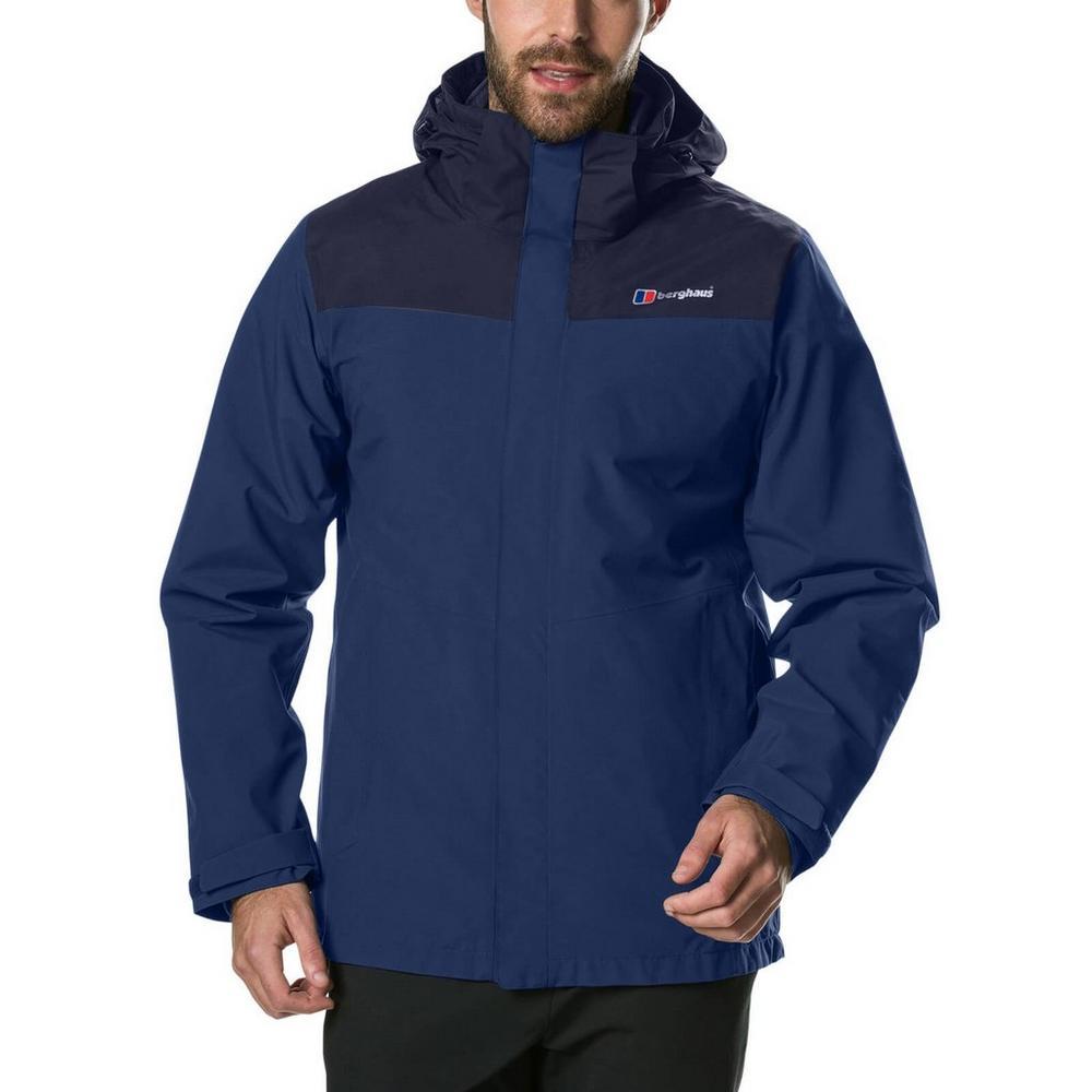 Berghaus Men's Berghaus Hillwalker InterActive Waterproof Jacket - Navy