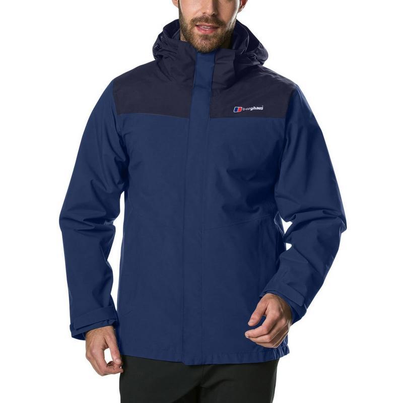 Men's Berghaus Hillwalker InterActive Waterproof Jacket - Navy