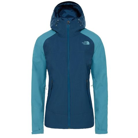 Blue The North Face Women s Stratos Jacket ... f74aff48c
