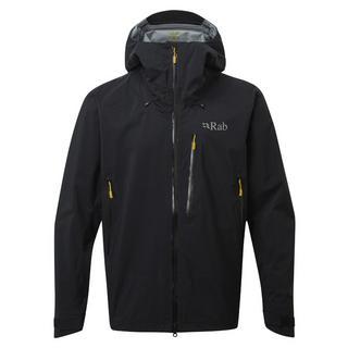 Men's Rab Firewall Waterproof Jacket - Black
