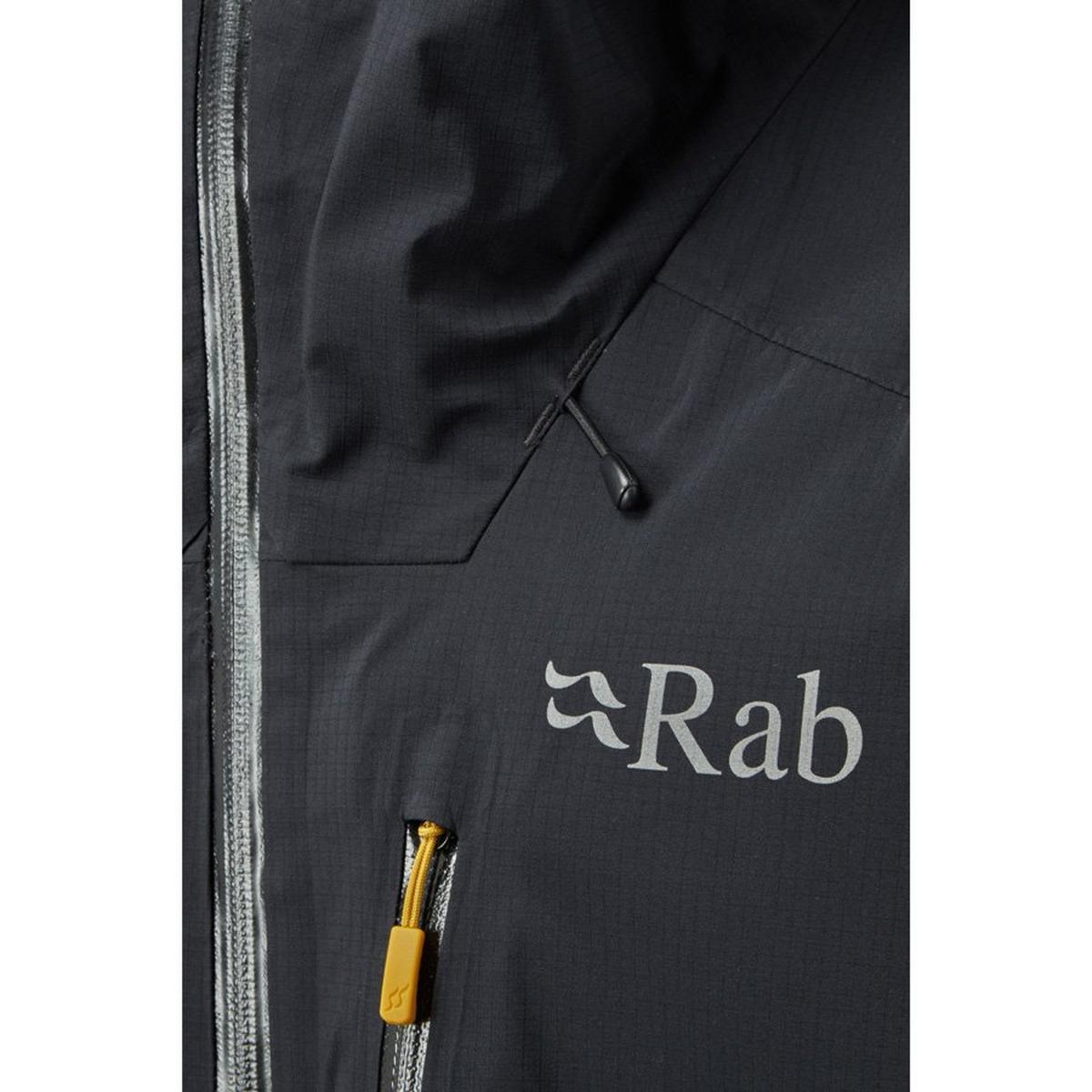 Rab Men's Rab Firewall Waterproof Jacket - Black