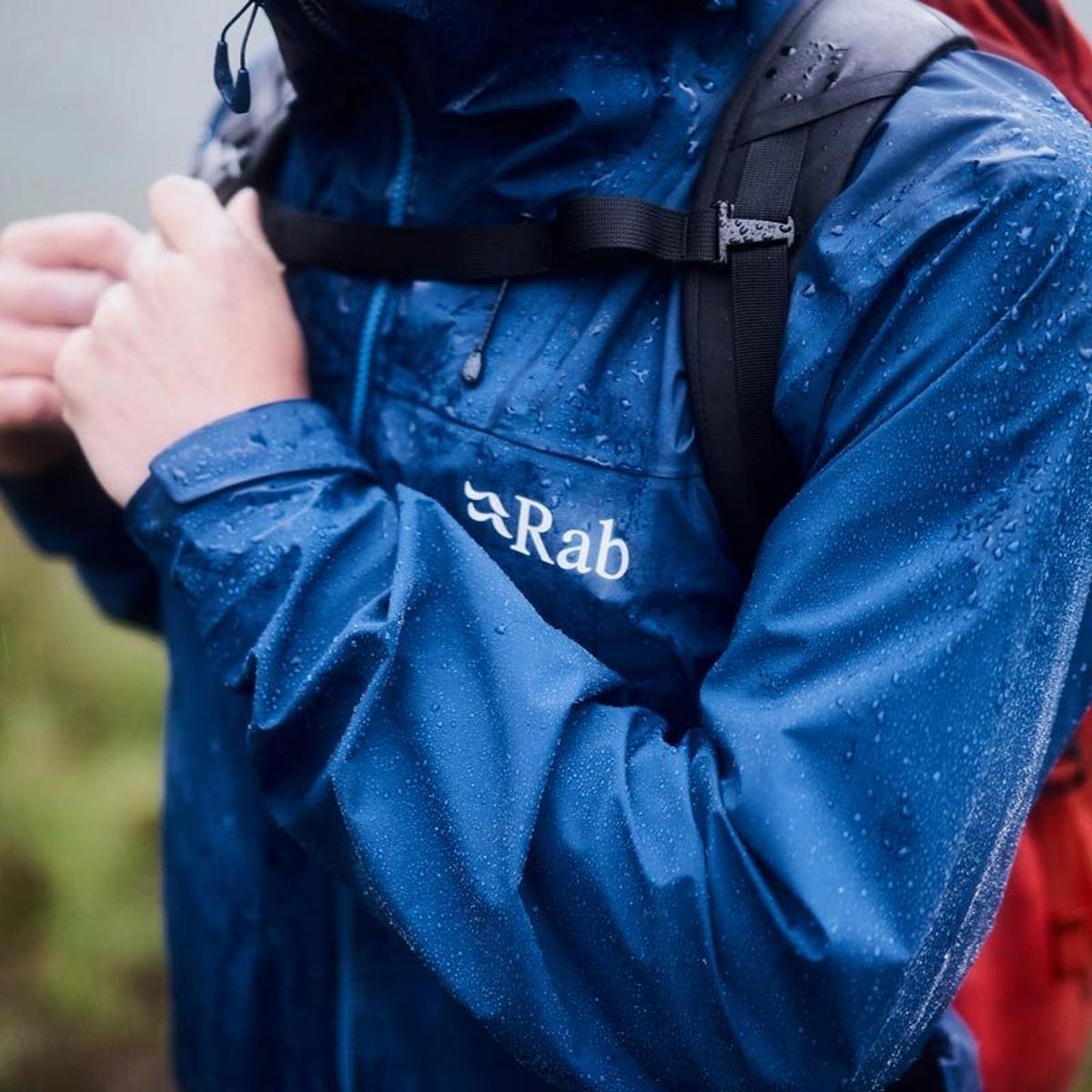 Rab Men's Rab Kangri GTX Waterproof Jacket - Navy