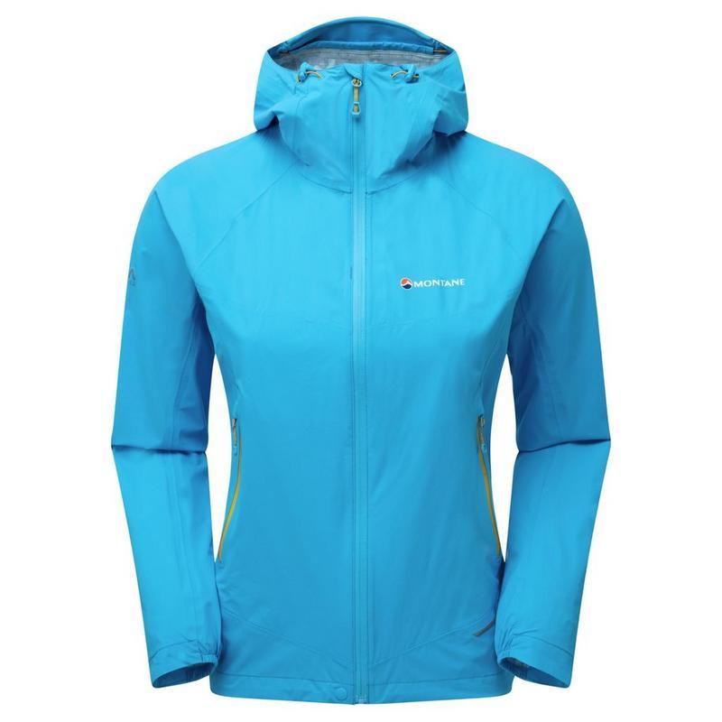 WATERPROOF Jacket Women's Minimus Stretch Ultra Cerulean Blue/Orange