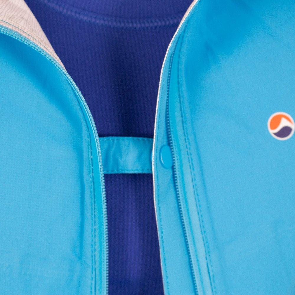 Montane WATERPROOF Jacket Women's Minimus Stretch Ultra Cerulean Blue/Orange