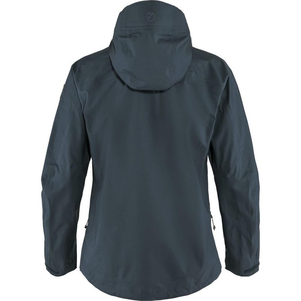 Fjallraven Women's Keb Eco-Shell Jacket - Navy