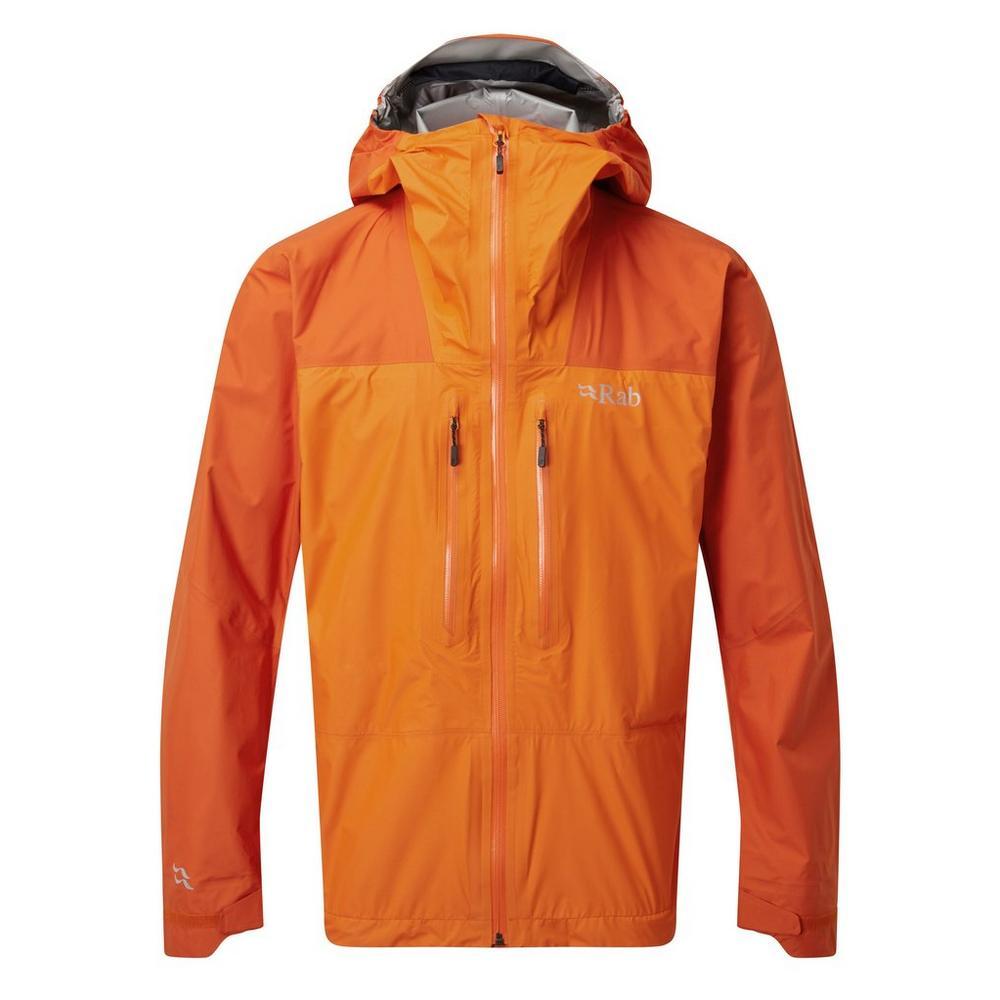 Rab Men's Zenith Waterproof Jacket - Orange