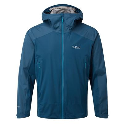 Rab Men's Kinetic Alpine Waterproof Jacket - Blue