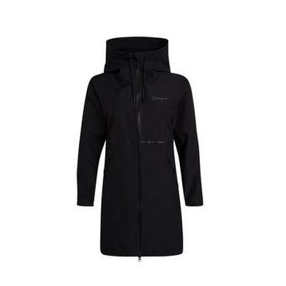 Berghaus Women's Paclite Long Jacket - Black