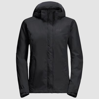 Jack Wolfskin Women's Seven Lakes Jacket - Black