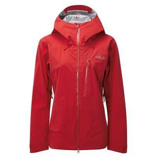 Women's Rab Firewall Waterproof Jacket - Red