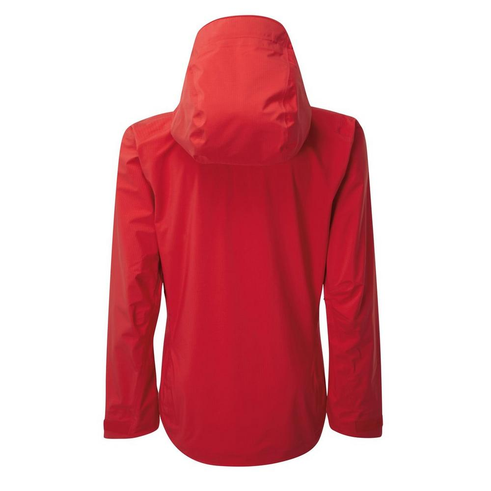 Rab Women's Rab Firewall Waterproof Jacket - Red