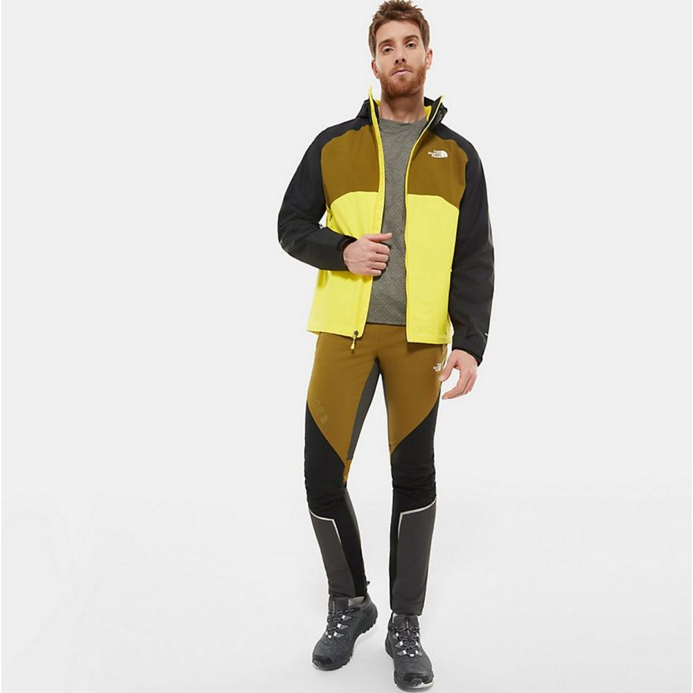 The North Face Men's Stratos Hooded Jacket - Yellow