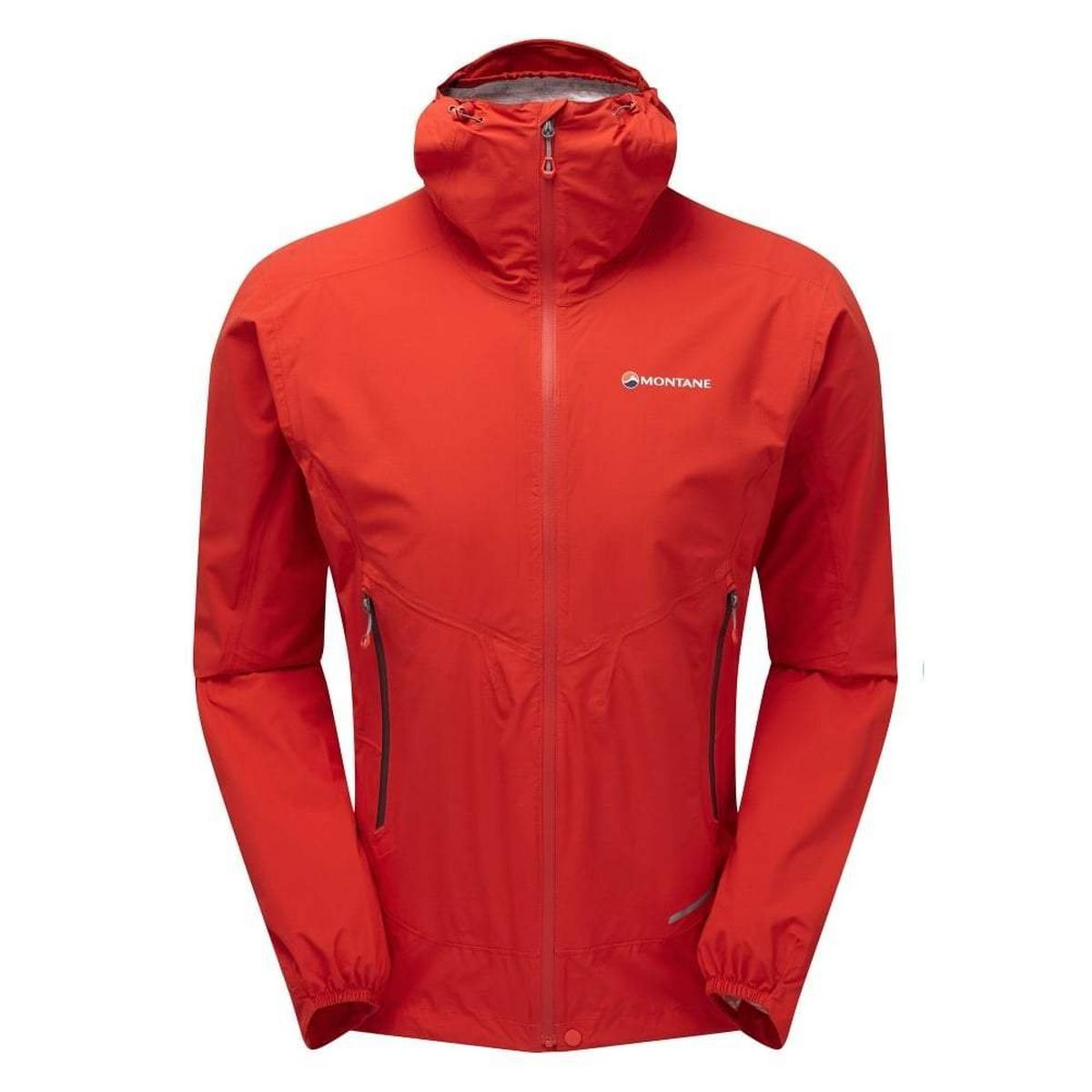 Montane Men's Montane Minimus Stretch Ultra Waterproof Jacket- Red