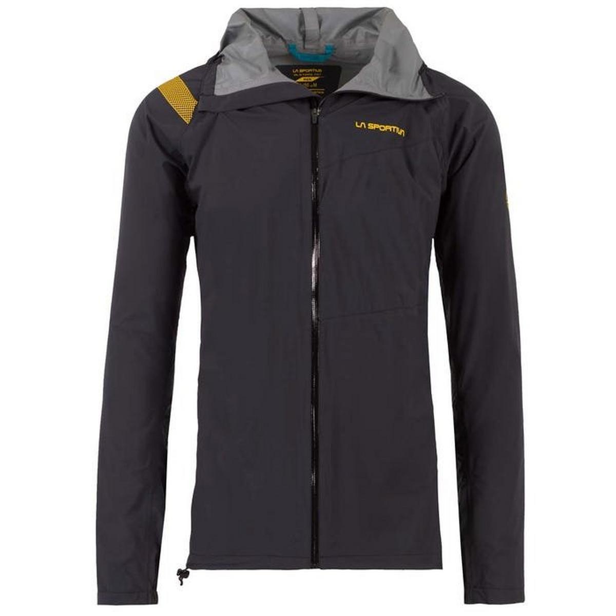 La Sportiva Men's Run Jacket - Black