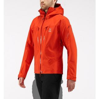 Men's Haglofs Spitz Waterproof Jacket- Orange