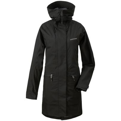 Didriksons Women's Ilma Waterproof Parka - Black