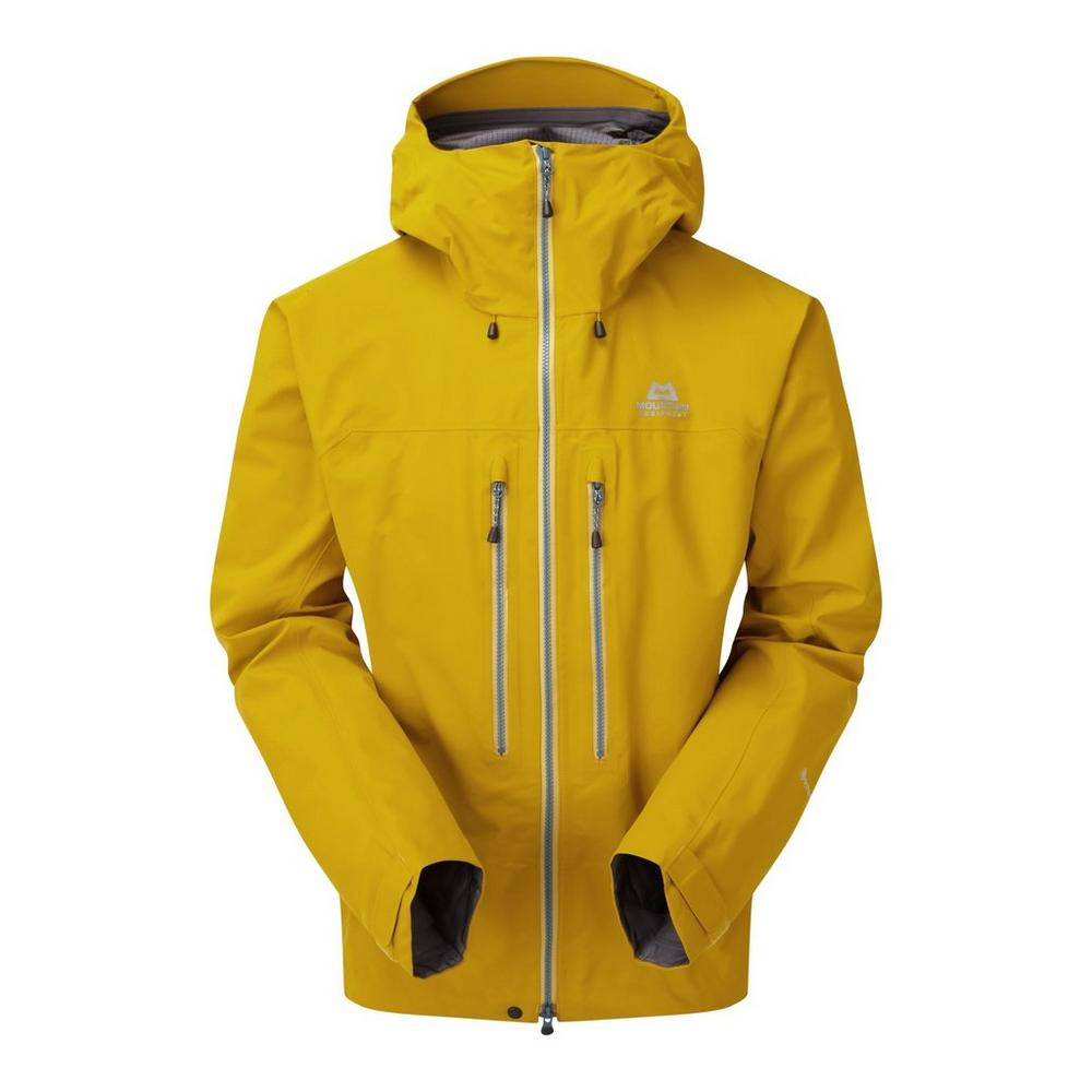 Mountain Equipment Men's Mountain Equipment Tupilak Waterproof Jacket - Yellow