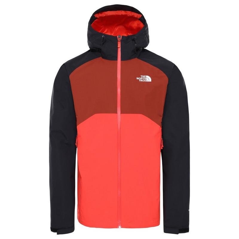 Men's Stratos Jacket - Black/Red