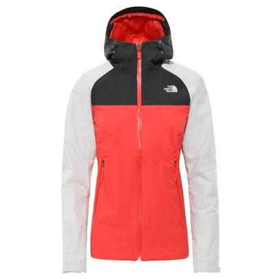 The North Face Women's Stratos Jacket - Grey/Red