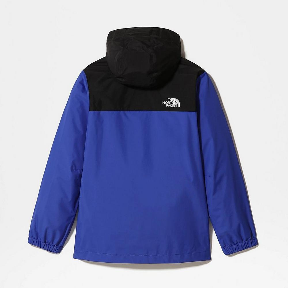 The North Face Kids' The North Face Resolve Reflective Waterproof Jacket - Blue