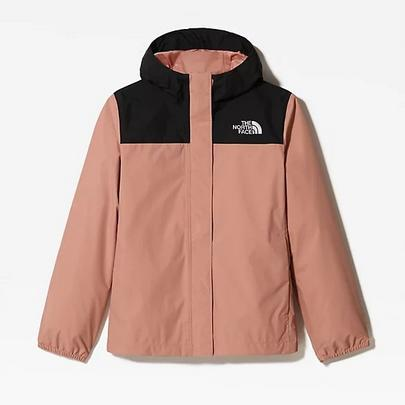 The North Face Girl's Resolve Reflect Jacket - Pink Clay