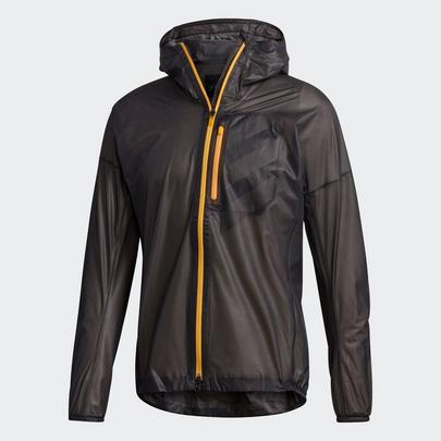 Adidas Men's Terrex Agravic Rain Jacket - Black