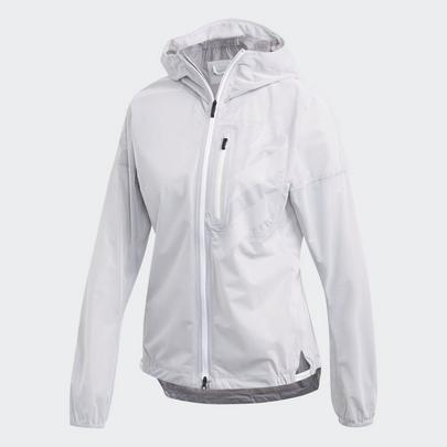 Adidas Women's Terrex Agravic Rain Jacket - White
