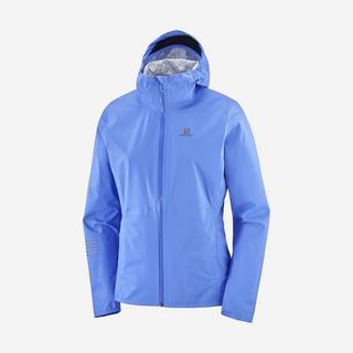Women's Lightning Waterproof Jacket - Blue