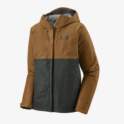 Patagonia Men's Torrentshell 3L Jacket - Mulch Brown