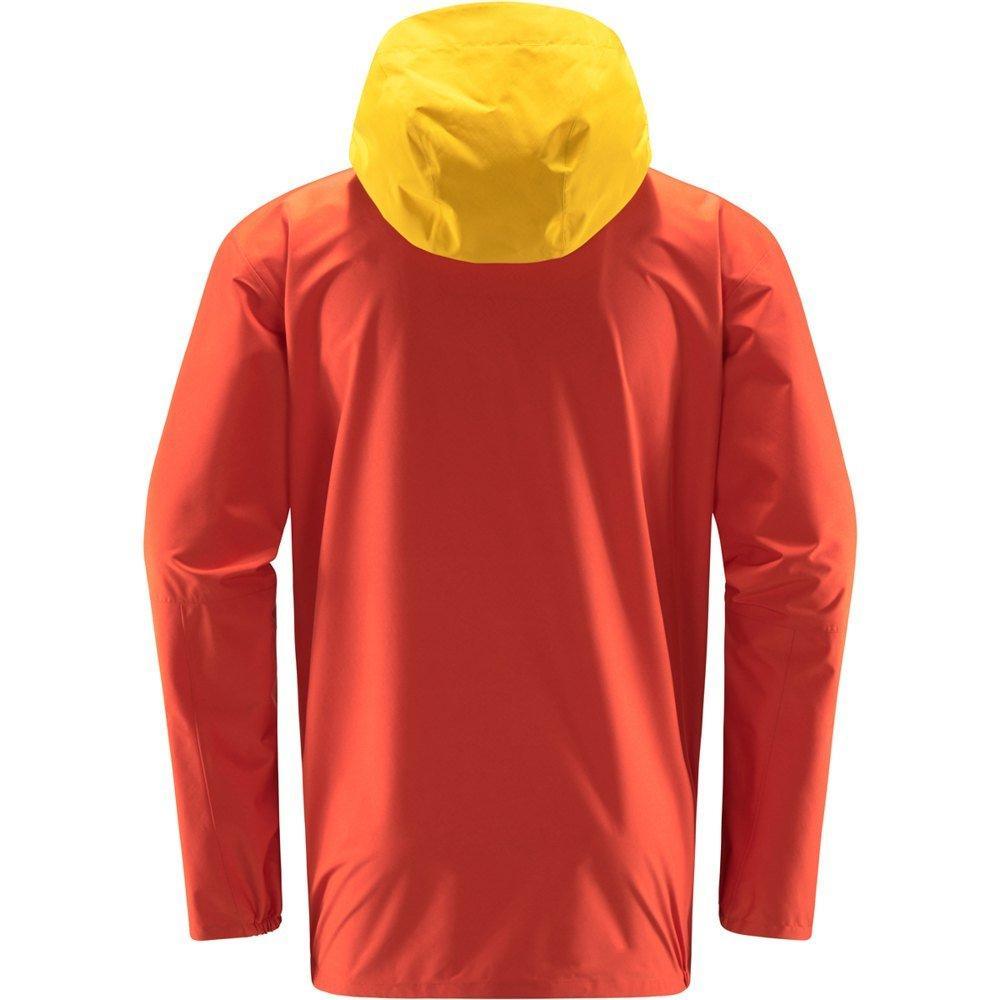 Haglofs Men's Spira Jacket - Habanero/Magnetite