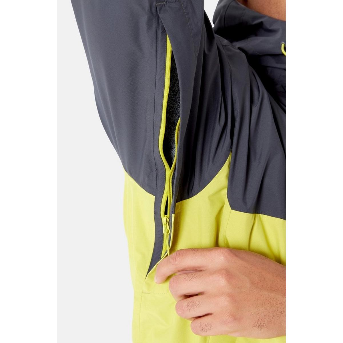 Rab Men's Downpour Eco Jacket - Yellow