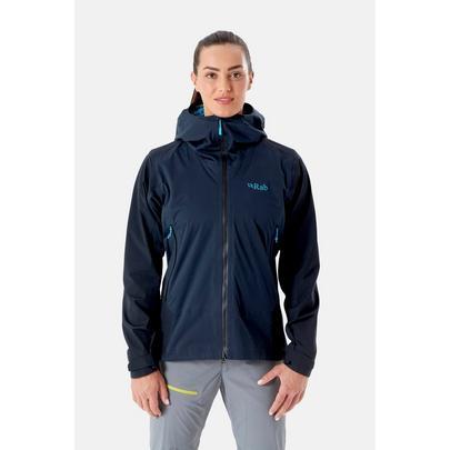 Rab Women's Kinetic Alpine 2.0 Jacket - Grey