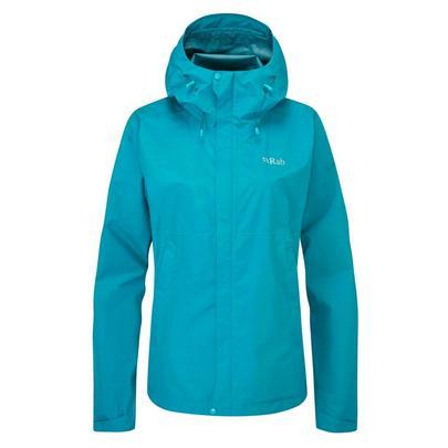 Rab Woman's Downpour Eco Jacket - Blue